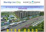NORTHPARK RESIDENCES @ NORTHPOINT CITY – Yishun Central Condo by FRASERS CENTREPOINT. Yishun MRT @ Doorstep!!  HOT NEW LAUNCH  – Integrated Residences  with Shopping Mall, Bus Interchange & Community Club. apartment for sale