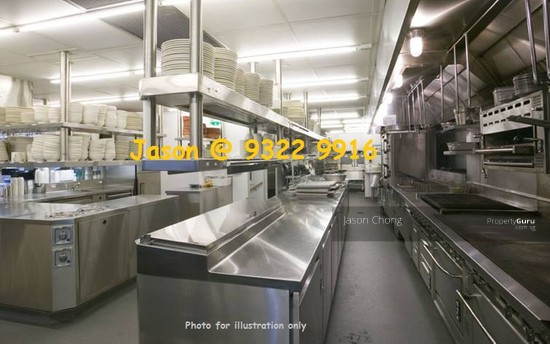 Food Zone Food Processing Amp Food Central Kitchen At