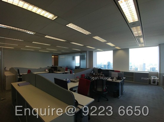 Unblocked city view office at a prime location lift