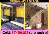 **999yrs 3 STY MIMOSA SEMI-D FOR SALE! ** - Property For Sale in Singapore