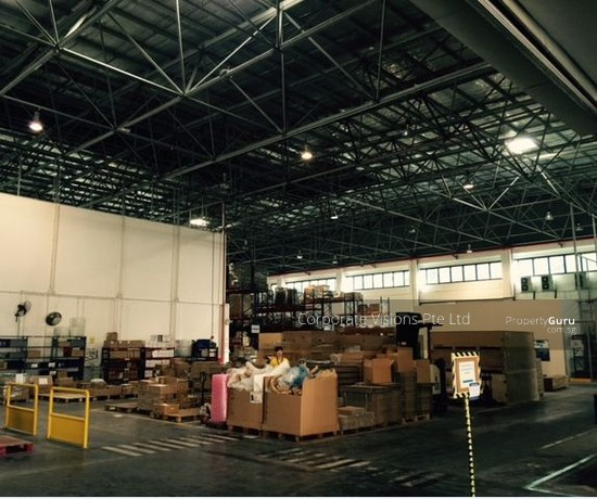 1ST FLOOR 8M HIGH WAREHOUSE FOR AIR FREIGHT LOGISTIC