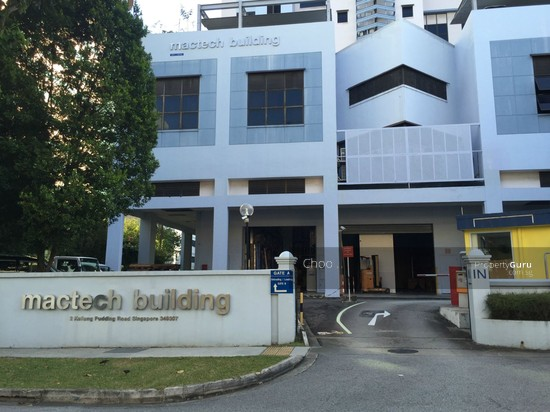 Kallang Pudding Road Mactech Industrial Building
