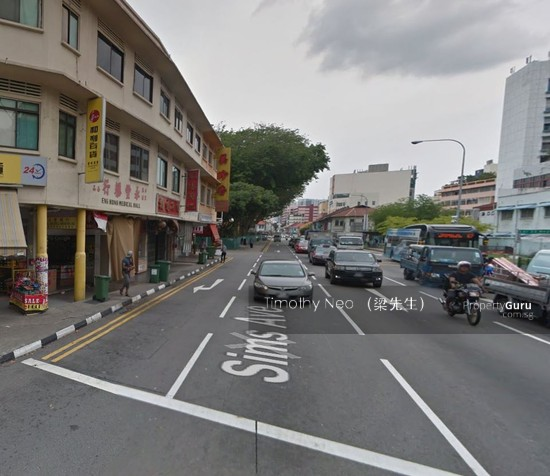 Light Industrial Near Mrt: Geylang Shophouse Near Aljunied Station For SALE