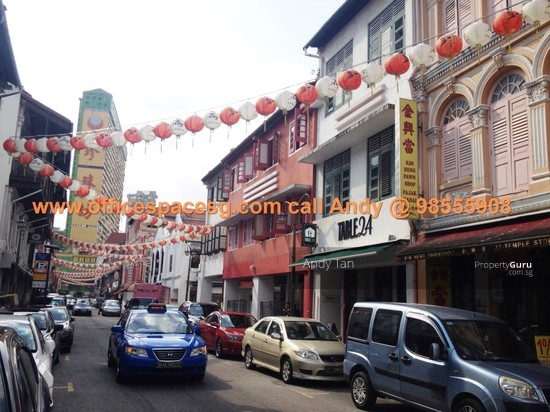 Ground Level Chinatown Shophouse Space Temple St Temple