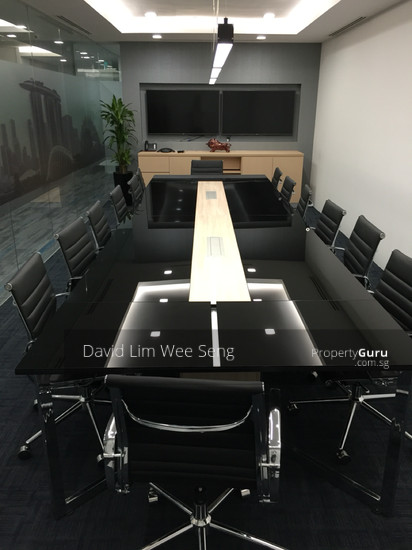 Fully fitted 3 to 4 pax office space raffles place for Space v place