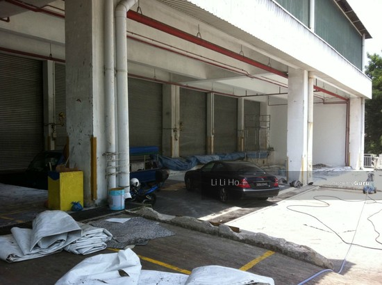 Ground floor 10m high ceiling 25kn m warehouse near pasir for 34 boon leat terrace