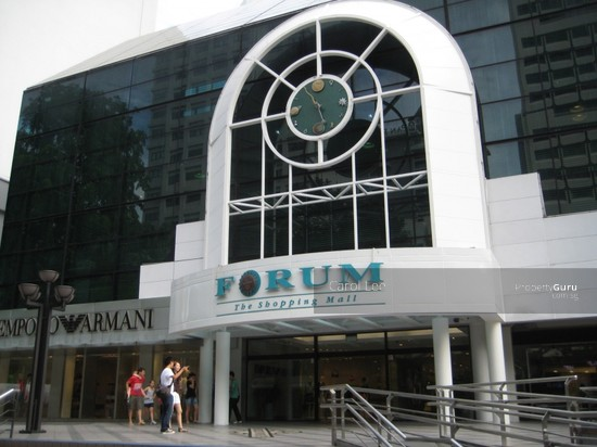 Forum Galleria Shopping Centre 583 Orchard Road 238884 Singapore Office For Rent