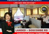 Boscombe Road , Freehold Semi D,  for Rebuilt - Property For Sale in Singapore