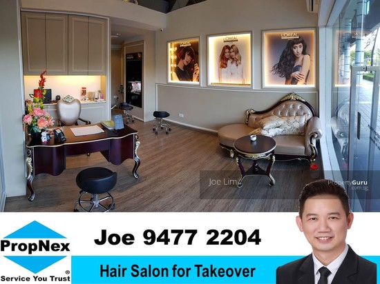 Luxurious Hair Salon For Takeover Bukit Timah Road 8750 Per