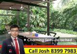 Charming Tropical 2 Sty Semi-D with beautiful Garden @ Holland - Property For Sale in Singapore
