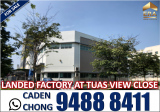 2 STOREY DETACHED LANDED FACTORY at TUAS VIEW CLOSE - Property For Sale in Singapore