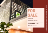 D19 ELEVATED BRAND NEW DETACHED IN SERANGOON GARDENS PRESTIGE LOCATION - Property For Sale in Singapore