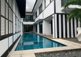 COLONIAL CHARM BLACK & WHITE GOOD CLASS BUNGALOW W LIFT &  MODERN INTERIOR - Property For Sale in Singapore