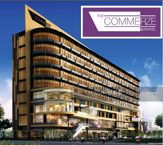 Light Industrial Near Mrt: New Design Industrial B1 Unit :Commerze@Tai Seng MRT