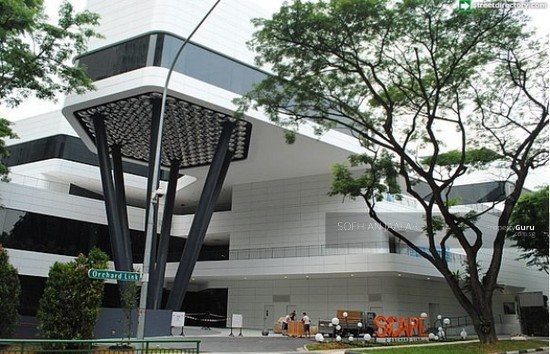SCAPE, 2 Orchard Link, Singapore, Mall Shop For Rent