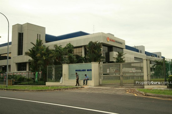 Chartered Semi Conductor Building, 60 Woodlands Industrial
