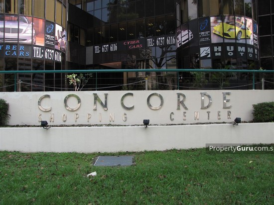 Concorde Shopping Centre  3178448
