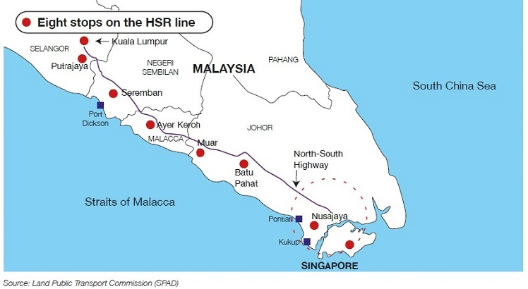 Land acquisition for HSR project to take place next year
