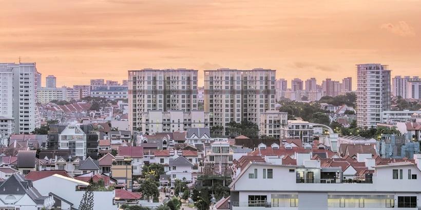 Kembangan Residential Area in Singapore