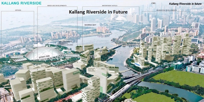Kallang Riverside and Kampong Bugis