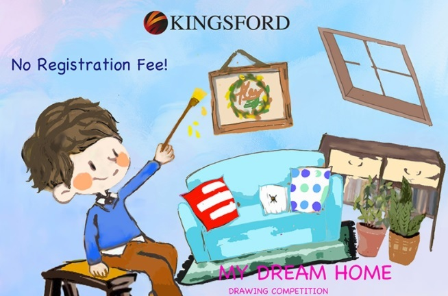 Developer invites kids to draw dream home property for My dream house drawing