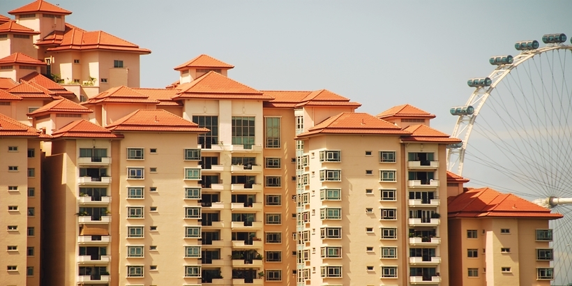 Picture of Costa Rhu Condominium, one of the most prestigious apartments in Singapore.