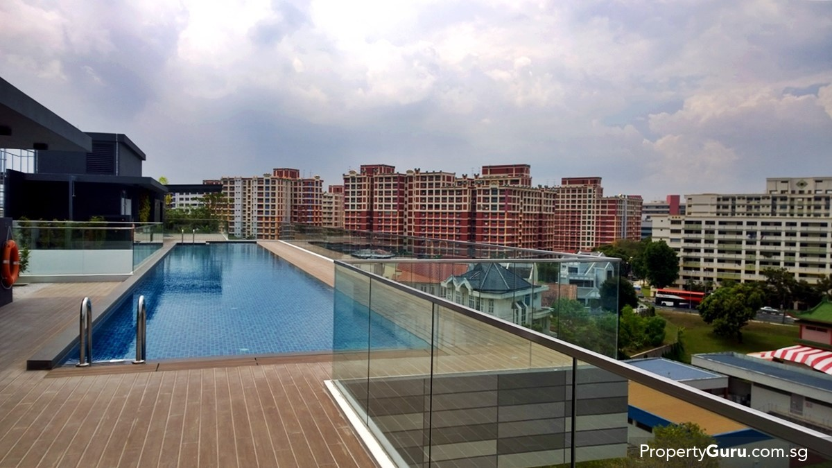 Singa hills review propertyguru singapore for Rooftop swimming pool