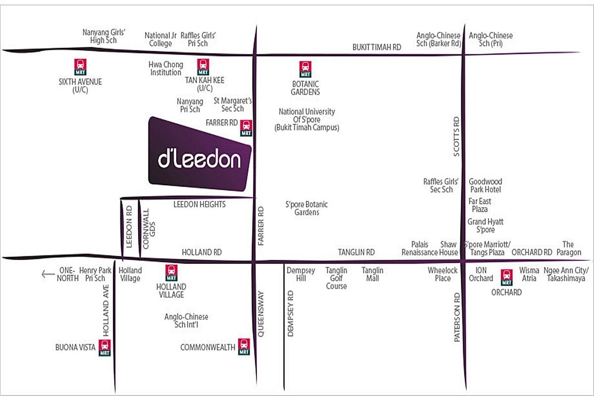 Garden villas at d leedon - Source Developer S Brochure