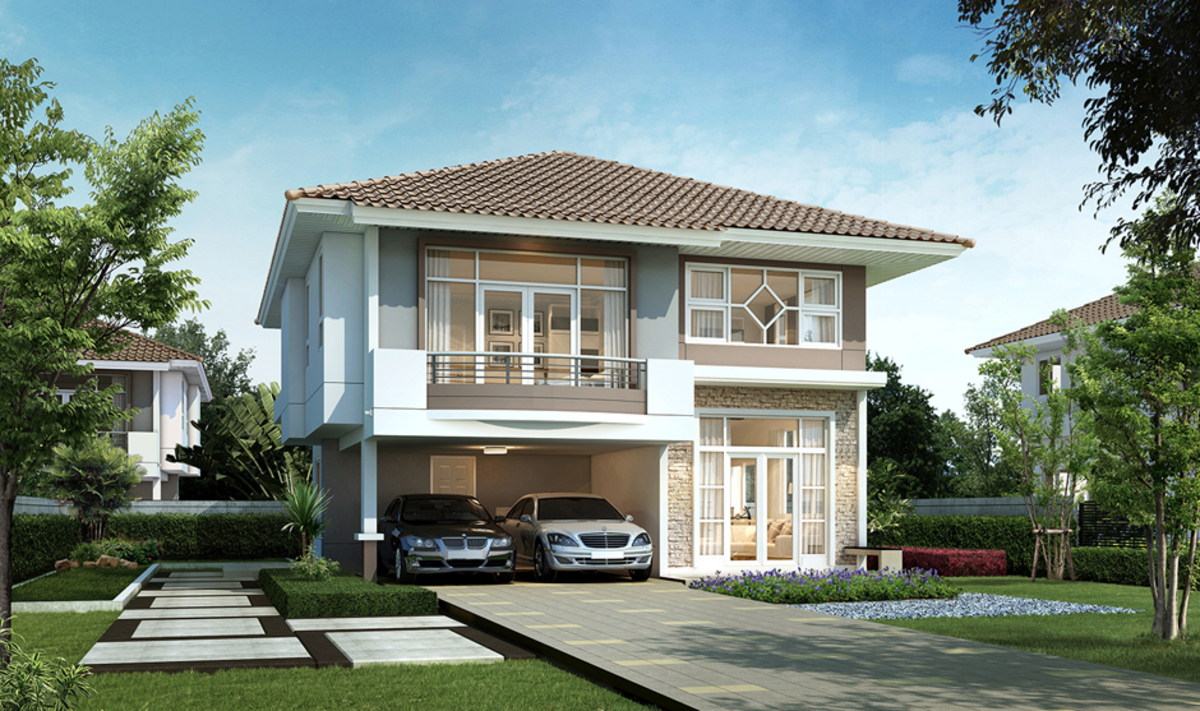 Supalai ville chonburi new launch project for Minimalist house thailand