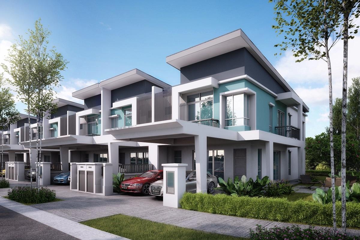 Image gallery seremban 2 houses for Season 2 terrace house