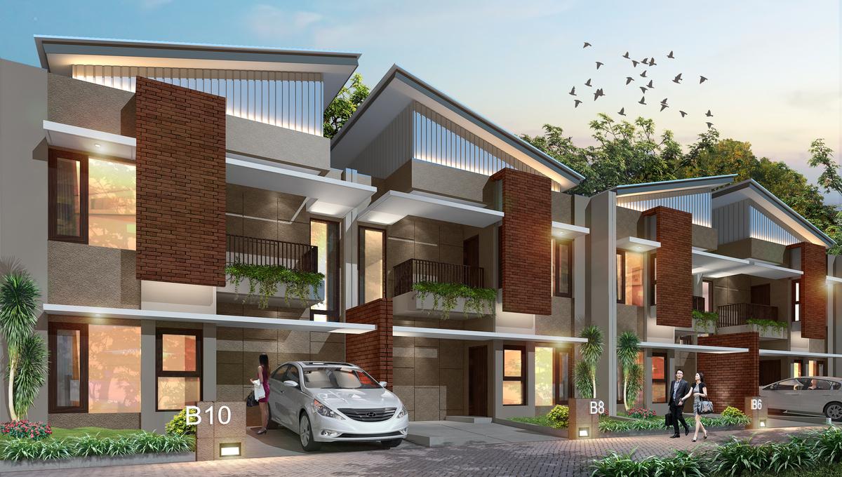 Joglo town house dijual for Minimalist house jakarta