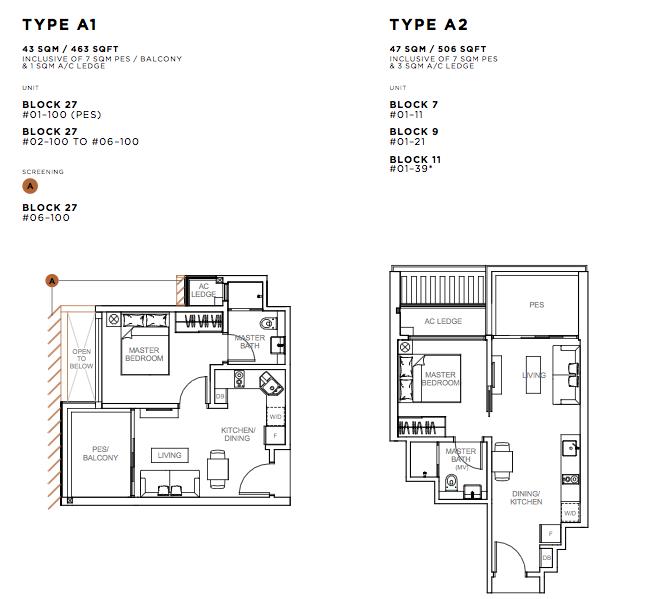 Sophia hills new project launch propertyguru for Kaplan floor plan