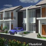 GRIYA MUTIARA ARRAYAN 2 : Rumah 2 Lantai Harga 1 Lantai Dekat Stasiun dan Tol