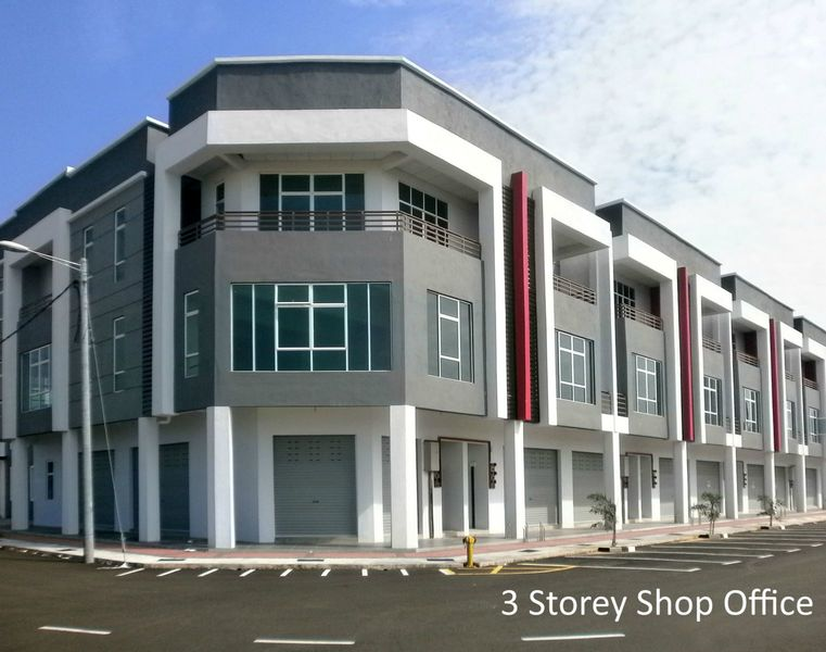 3 Storey Shop Office