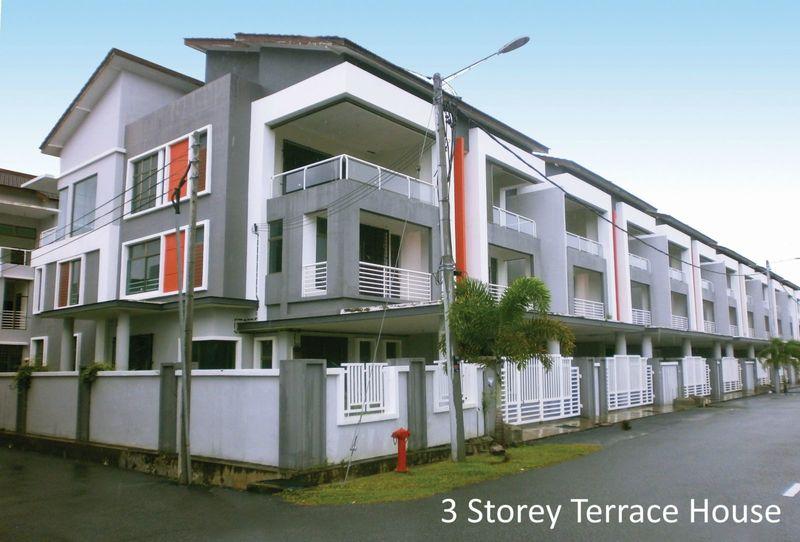 3 Storey Terrace House