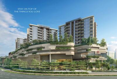 - INTEGRATED DEVELOPMENT BY CDL. Doorstep To MRT, Mall, Bus Interchange, Hawker Centre, Childcare Centre & More