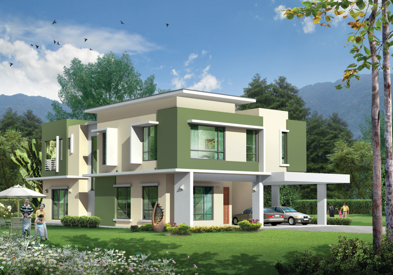 Double Storey Bungalow-PHASE 2 (9 UNITS)