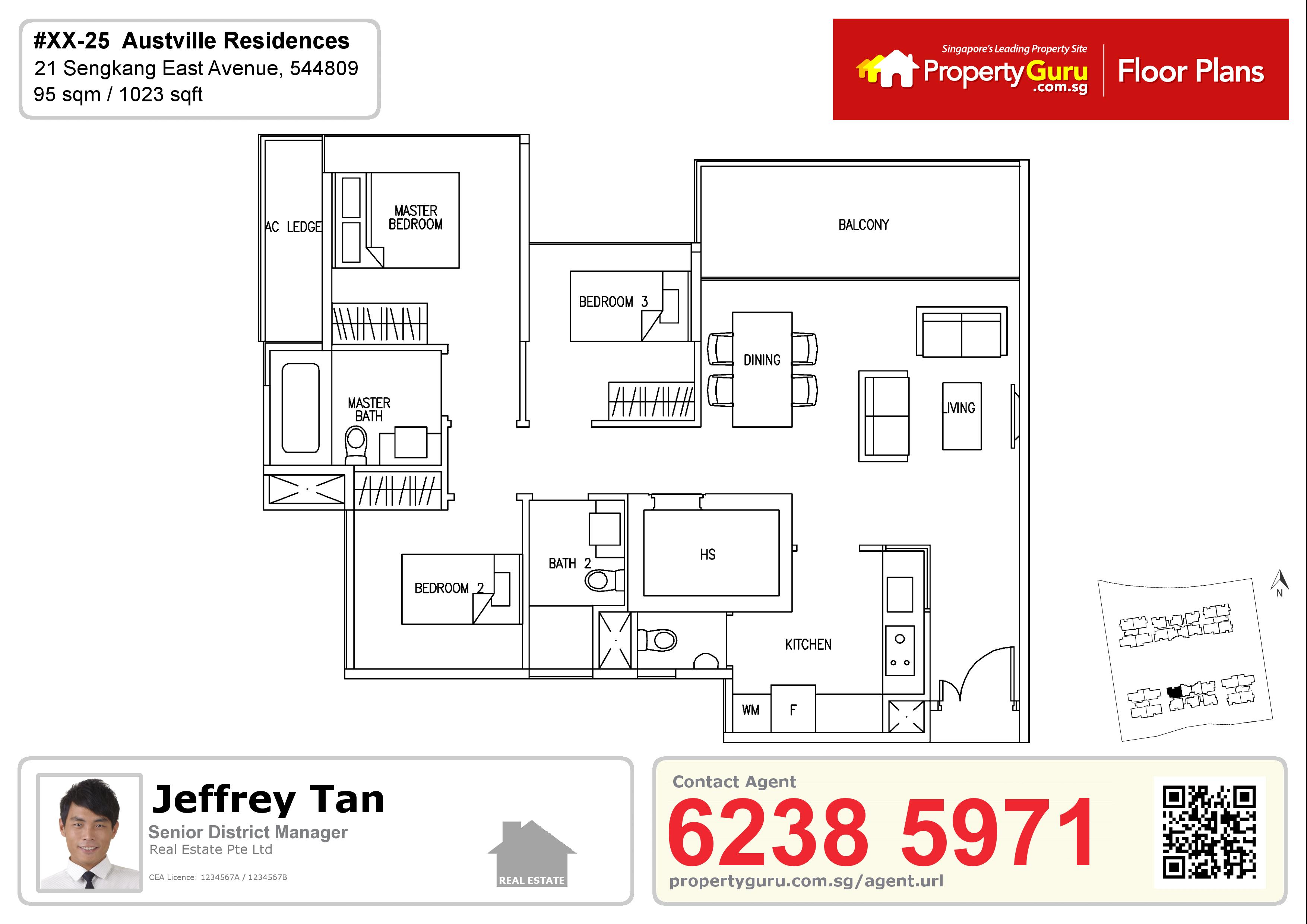 Floor plans and information for Singapore properties | PropertyGuru