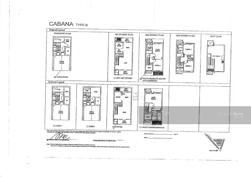 Cabana Cluster House Sunrise Terrace 4 Bedrooms 2915 Sqft – Cluster Home Floor Plans