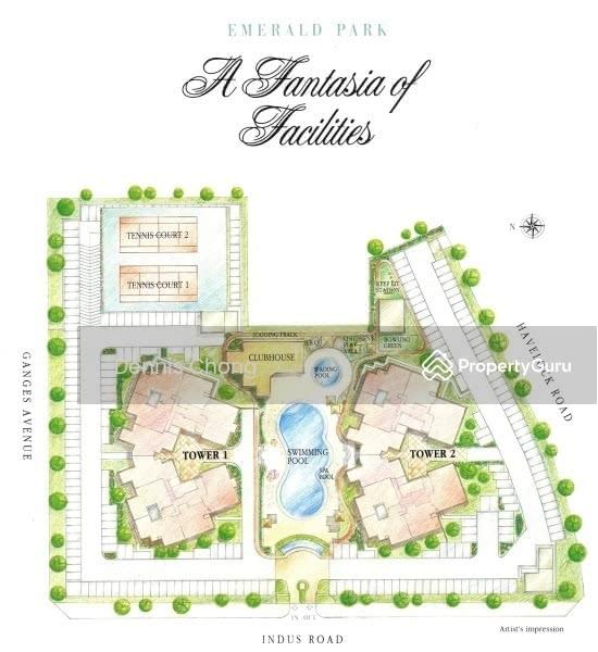 Emerald Park Apartments: Emerald Park, 6 Indus Road, 3 Bedrooms, 1453 Sqft