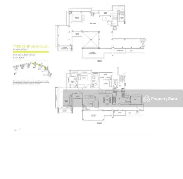 The Parc Condominium, 7 West Coast Walk, 3 Bedrooms, 2271 Sqft ...