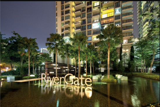 Rivergate 99 robertson quay 3 bedrooms 1550 sqft for The rivergate