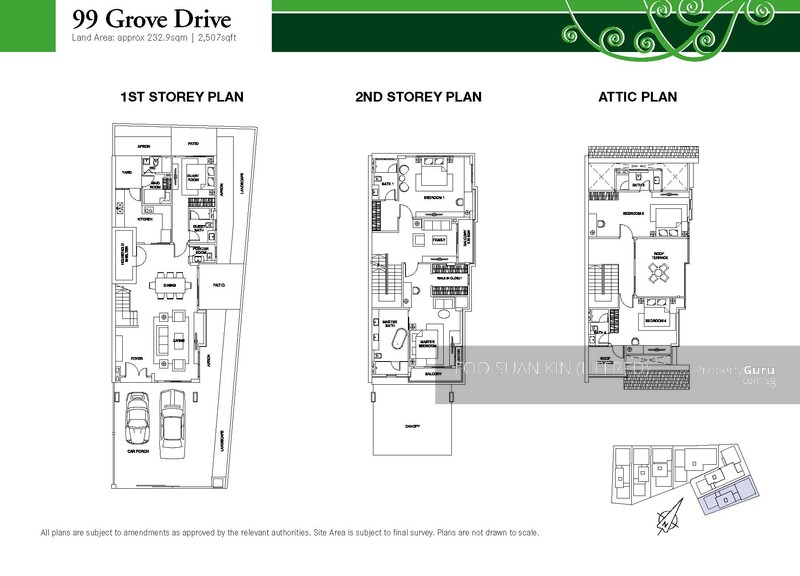 Grove Drive 99 4 Bedrooms 3720 Sqft Landed Houses