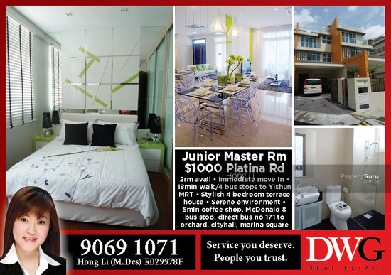 For Rent 30a Platina Road on Bungalows Houses Condos Rental Properties Singapore