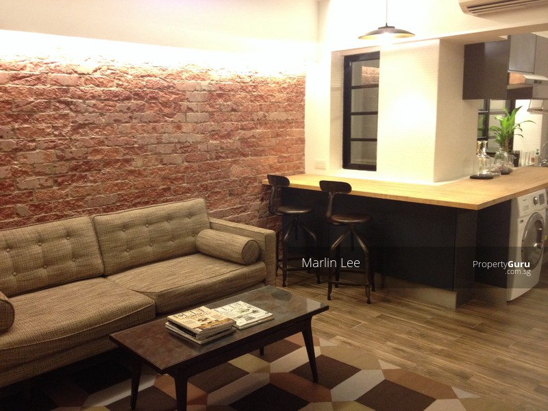 New York Loft Style 2 Bedrooms Apartment Tiong B Tiong Bahru 2 Bedrooms 645 Sqft
