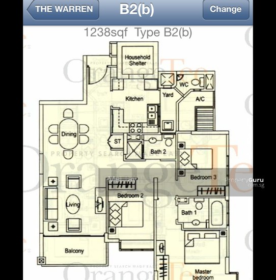 The Warren 37 Choa Chu Kang Loop 3 Bedrooms 1238 Sqft Condominiums Apartments And Executive