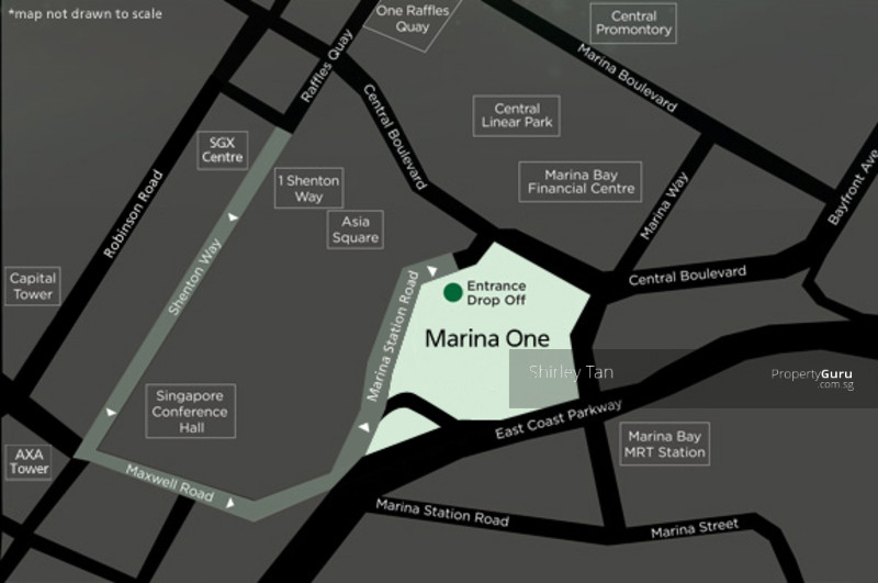 Marina One East Tower Straits View 2 Bedrooms 1119 Sqft