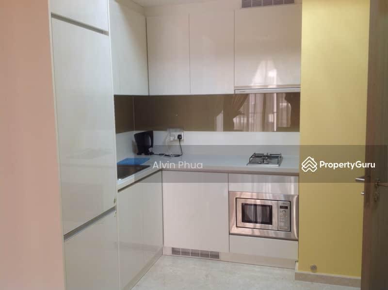 kitchen complete with fridge, washer/dryer.