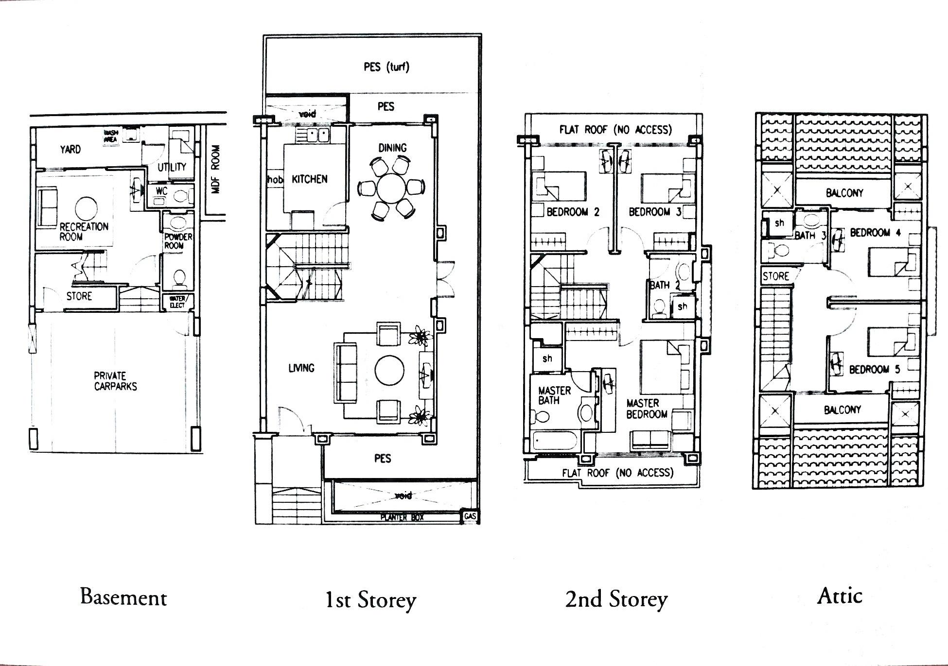Horizon Gardens 477 Ang Mo Kio Avenue 2 5 Bedrooms 3100