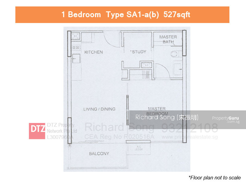Watertown 65 punggol central 1 bedroom 527 sqft condominiums apartments and executive Punggol master bedroom rental